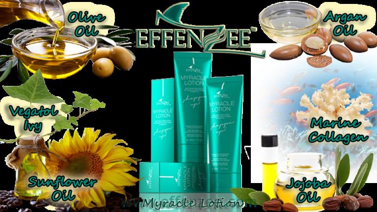 effenzee myracle lotion bahan utama losyen kurus wangi sejuk
