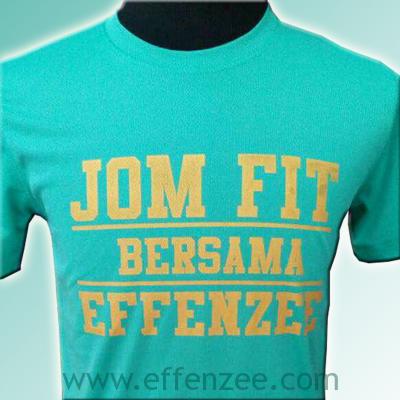 Effenzee jom fit event shirt