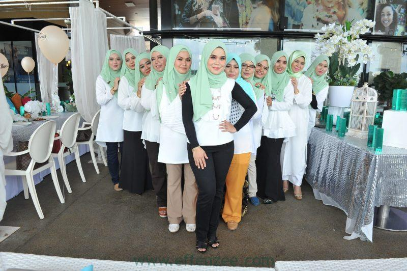 effenzee event myracle lotion soft launching Bora Ombak Putrajaya