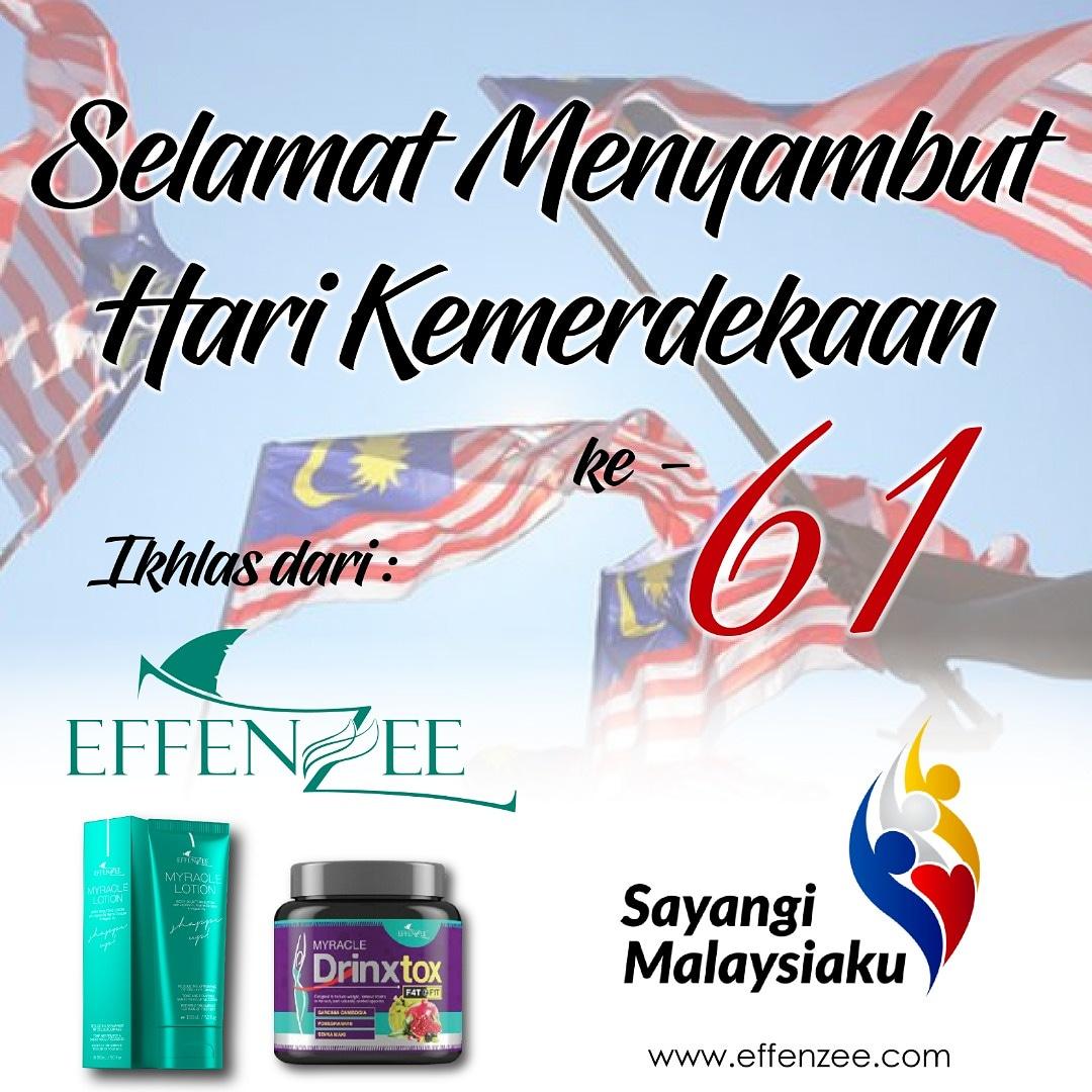 Salam Kemerdekaan Malaysia yg ke-61